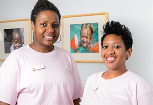Lab Techs at Chevy Chase Pediatrics in Washington, D.C.